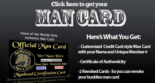 Get Your Man Card