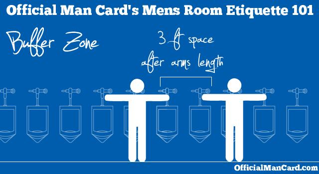 Man Rule 231 Mens Room Etiquette Officialmancard Com