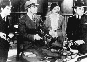 Scarface 1932 Gangster Meeting