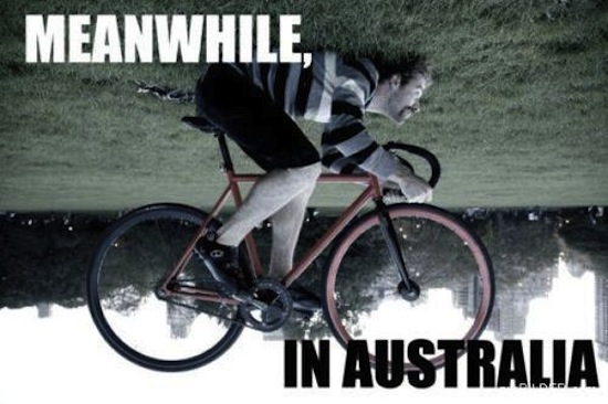 How to ride a bike in Australia