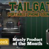 Thinkgeek Manly Product Tailgater Iphone Speaker